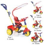 Little Tikes 4 in 1 Trike Primary 627354 ( Harga : Rp 1.550.000,- )