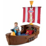 Little Tikes Pirate Ship Toddler Bed 625954 ( Harga : Rp 7.900.000,- )