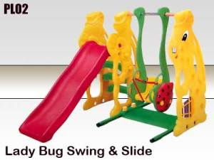 Lady Bug Swing & Slide