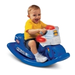 Little Tikes Police CycleSounds Rocker ( Harga Rp 1.020.000,- )