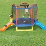 Little Tikes Climb 'N Slide 7Ft Trampoline ( Harga : Rp 5.150.000,- )